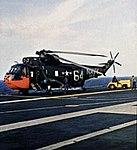 SH-3A Sea King of HS-8 on USS Bennington (CVS-20) in 1964.jpg