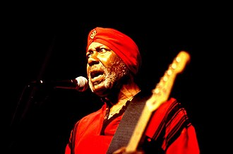 Sonny Rhodes - Rhodes performing in 2000