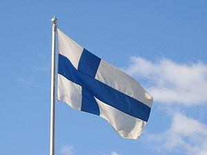 Flag days in Finland - The Finnish flag