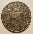 SPAIN and COLONIES 1806 -8 REALES, PIECE OF EIGHT a - Flickr - woody1778a.jpg
