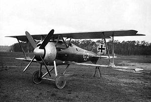 Jagdstaffel 15 - Jasta 15 was one of the few units to use the SSW D.III.