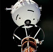 STS-46 TSS-1 tether close-up
