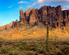 Pasmo Superstition Mountains