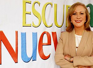 Vicky Colbert - Vicky Colbert is now Executive Director of Escuela Nueva Foundation