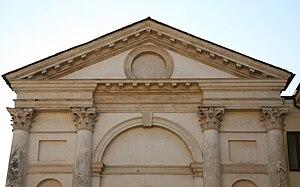 Santa Maria Nova, Vicenza - Detail of Facade