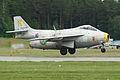 Saab J29F Tunnan 29670 R yellow (SE-DXB) (8376593118).jpg