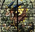 Saint-Chapelle de Vincennes - Baie 0 - Les saulteraux, détail de l'ange (bgw17 0366).jpg