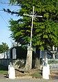 Saint-Cosme-en-Vairais - Calvaire de la Croix Verras.JPG