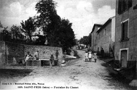 Saint-Prim in 1906