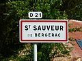 Saint-Sauveur (Dordogne) panneau.JPG