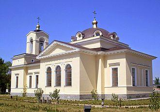 Gyumri - Saint Alexandra the Martyr's Russian Orthodox church, built in 1837–42
