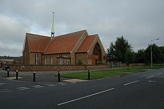 Orford, Cheshire - Image: Saint Andrews Church, Orford with Longford geograph.org.uk 26679