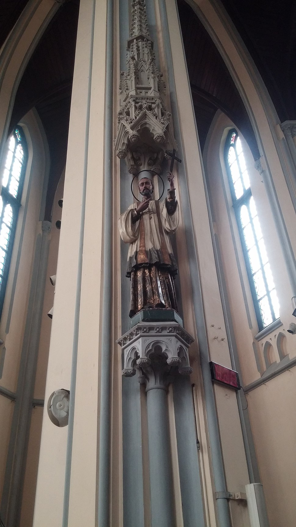 Saint Francis Xavier statue, Jakarta Cathedral, Indonesia
