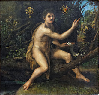 Celibacy - St. John the Baptist in the Wilderness by Raphael, circa 1517