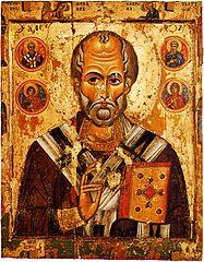 Icône de Nicolas du monastère de l'Esprit-Saint