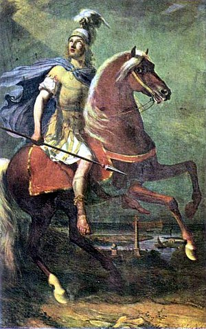 Saint Theodore of Amasea by Filippo Palizzi