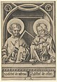 Saints Thomas and James the Lesser, from The Apostles MET DP841614.jpg