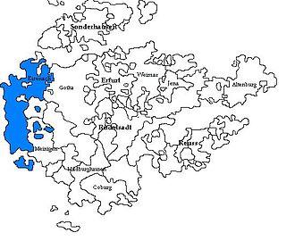 Saxe-Eisenach - Image: Sajonia Eisenach