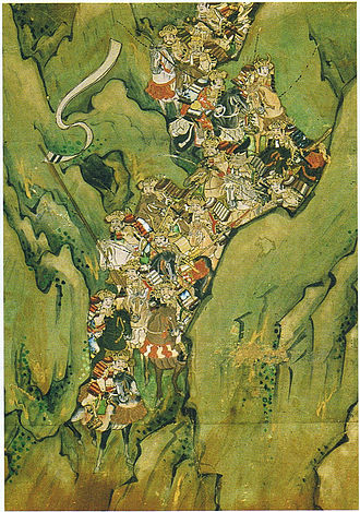 Battle of Ichi-no-Tani - Image: Sakaotosi