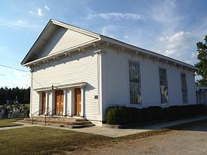 National Register of Historic Places listings in Granville County, North Carolina - Image: Salem Methodist Church