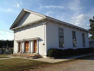 Salem Methodist Church (Huntsboro, North Carolina) - Image: Salem Methodist Church