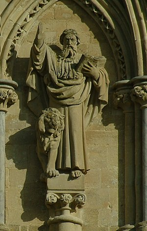 Statuary of the West Front of Salisbury Cathedral -  Daniel