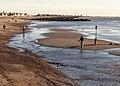 San Buenaventura State Beach at low tide 2015-01-04.jpg