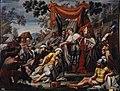 San Femando recibe el tributo de Mahomad de Baeza, de Lorenzo Quirós (Real Academia de Bellas Artes de San Fernando).jpg