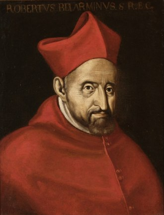 Robert Bellarmine - 16th-century portrait of Bellarmine