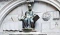 San Zulian (Venice) - Statue of Thomas Rangone by Jacopo Sansovino.jpg