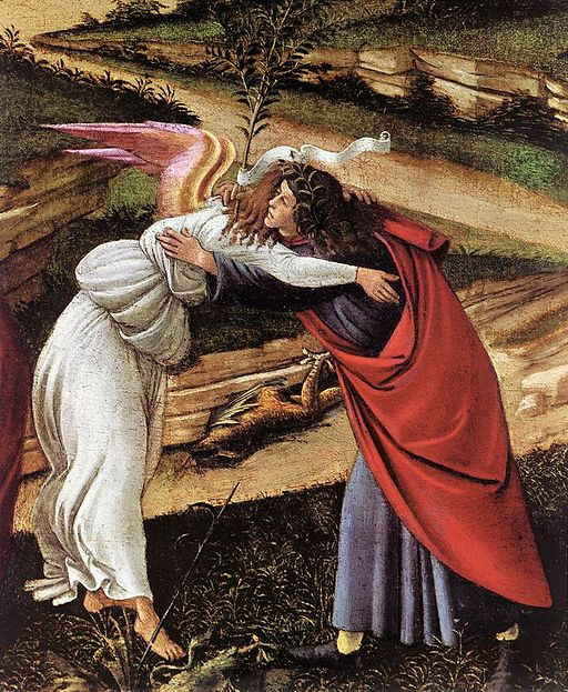 Sandro Botticelli - The Mystical Nativity (detail) - WGA2843