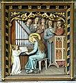 Sankt Oswald bei Freistadt Pfarrkirche - Relief Caecilia.jpg