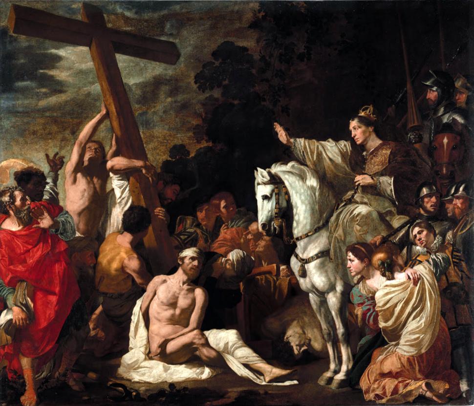 Sant'Elena e il ritrovamento della Vera Croce - Douffet