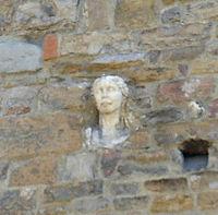 Santa Maria Maggiore, la berta dettaglio
