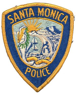 Santa Monica Police Department - Image: Santa Monica Police patch