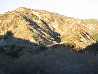 Santa Susana Mountains - California chaparral in Aliso Canyon, Santa Susana Mountains