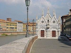 1230s in architecture - Image: Santa maria della spina 101