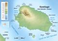 Santiago (Galapagos) topographic map-es.png