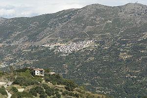 Gairo, Sardinia - Image: Sardinien gairo