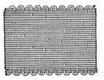 Struktura vazby tkaného saténu