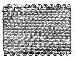 Structure of silk satin