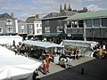 Saturday market, Totnes - geograph.org.uk - 370077.jpg