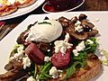 Sautéed field mushrooms at The Wooden Whisk in St Leonards.jpg