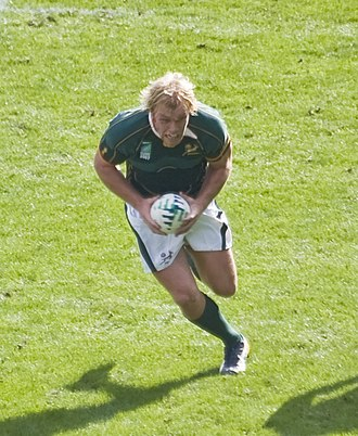 World Rugby Player of the Year - Image: Schalk Burger