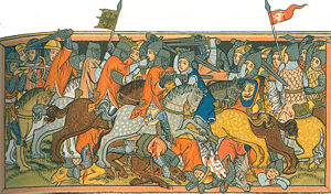 Battle of Mühldorf - Image: Schlacht bei Mühldorf 3