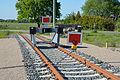 Schleswig-Holstein, Wrist, Ende der Bahnstrecke nach Itzehoe im Mai 2015 NIK 4259.JPG