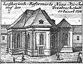 Schleuen - Luthersich-Reformierte Neue Kirche 1757.jpg