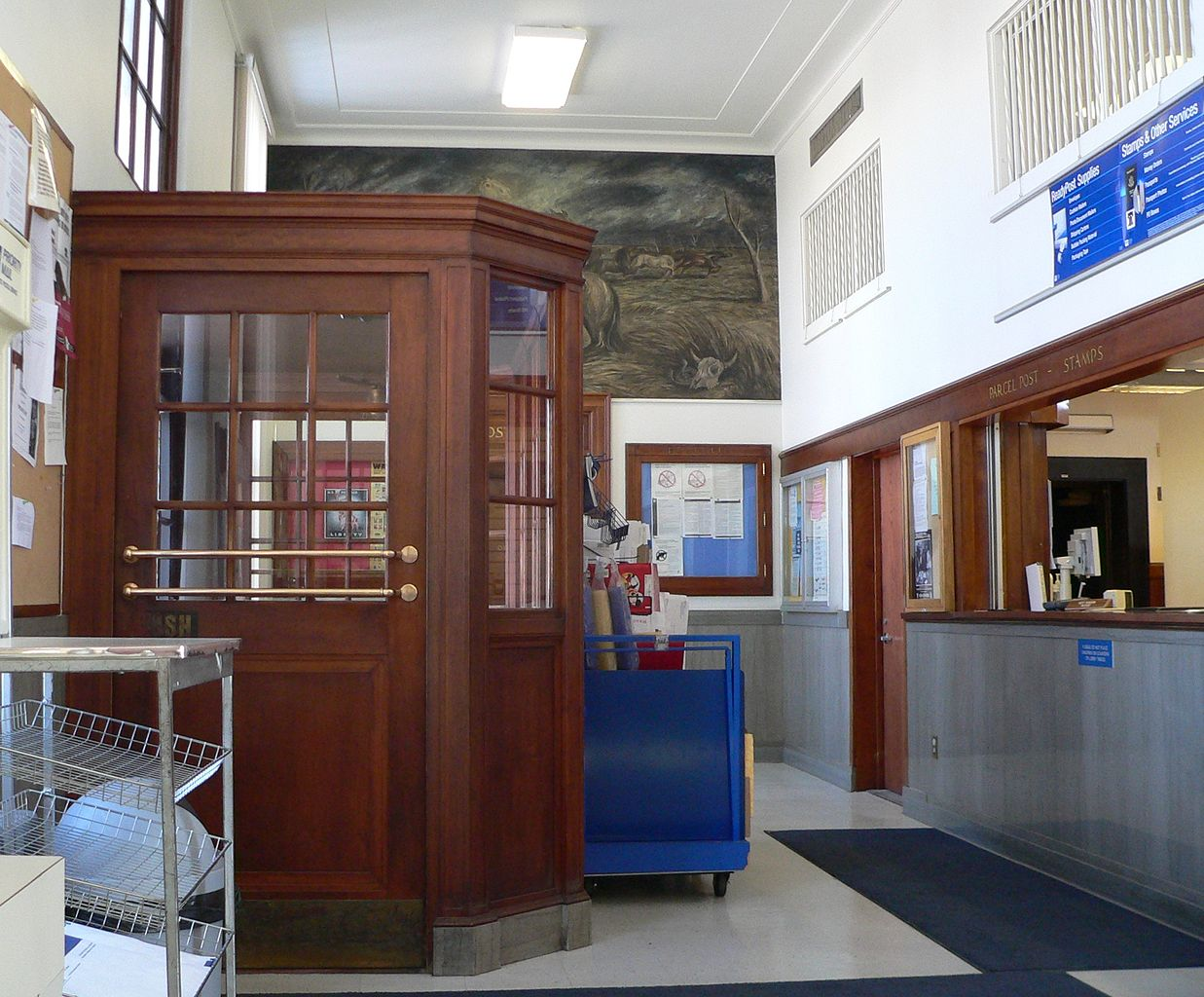 File Schuyler Nebraska Post Office Interior Vestibule Jpg