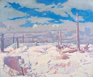 William Orpen - The Schwaben Redoubt (1917) (Art.IWM ART 3000)