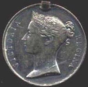 Scinde Medal - Image: Scinde Medal obv